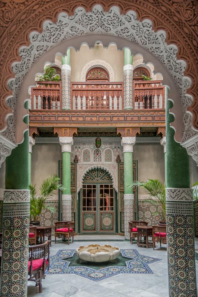 Peeking Inside the Fancy Riad - Cindy Carlsson - SPCC