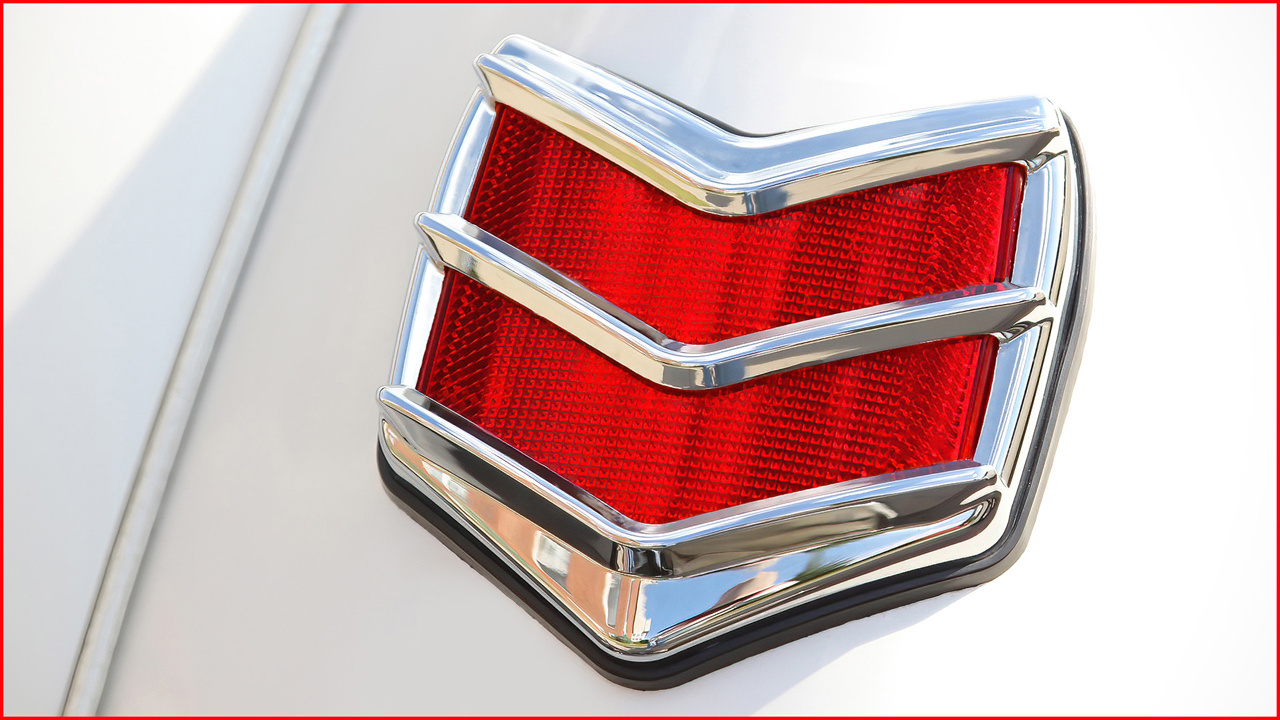 Honorable Mention - Ford Chevron Taillight - Gene Schwope - St. Paul Camera Club
